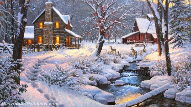 Christmas Painting MD077