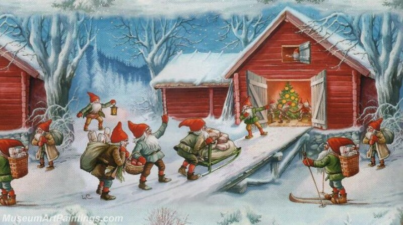 Christmas Painting MD078
