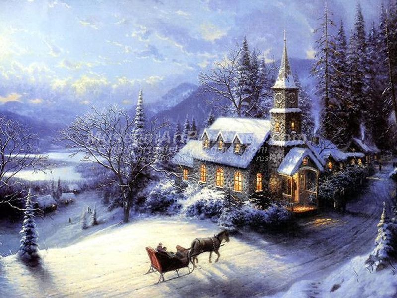 Christmas Paintings 007