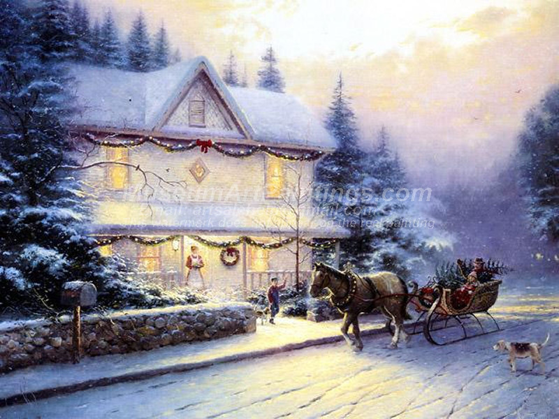 Christmas Paintings 008