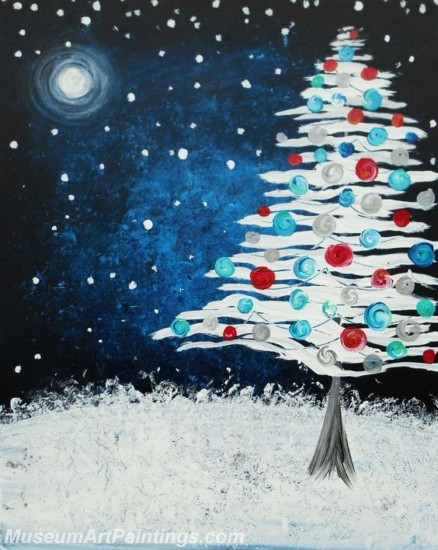Christmas Paintings on Canvas CPN012