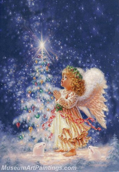 Christmas Paintings on Canvas CPN025