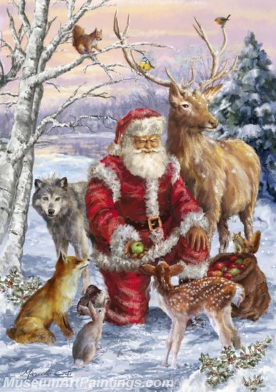 Christmas Paintings on Canvas CPN028