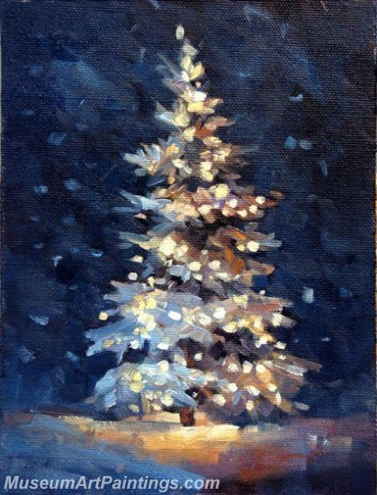 Christmas Paintings on Canvas CPN045