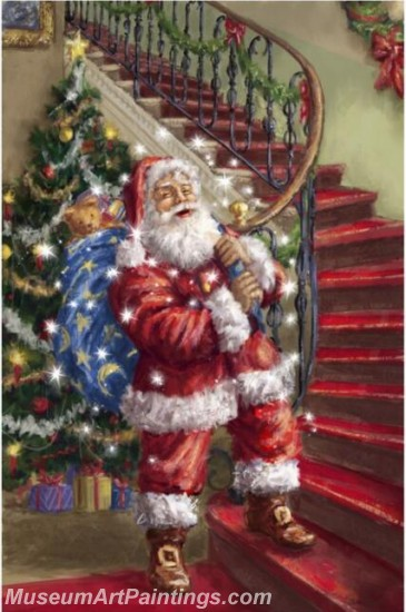 Christmas Paintings on Canvas CPN050