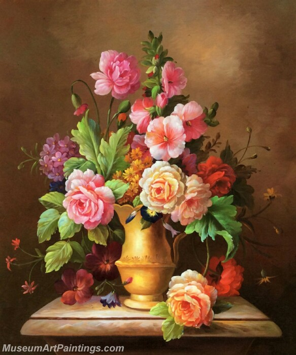 Classical Flower Oil Paintings DM01