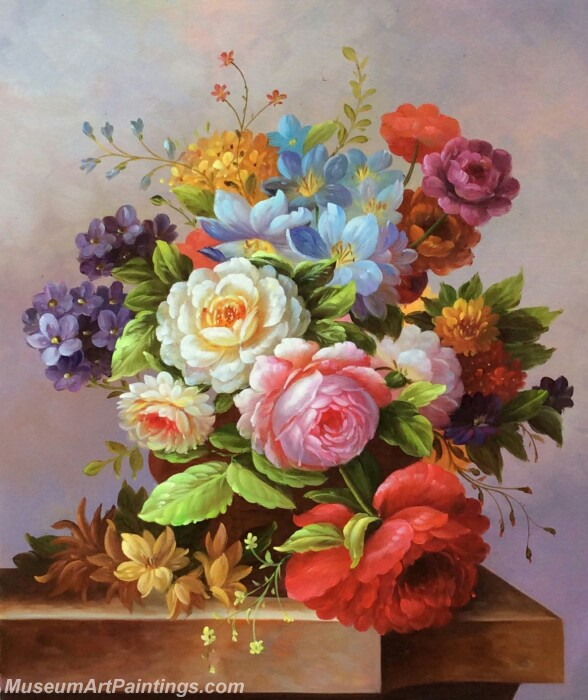 Classical Flower Oil Paintings DM02