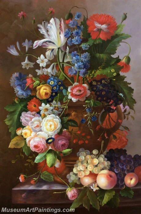 Classical Flower Oil Paintings DM04