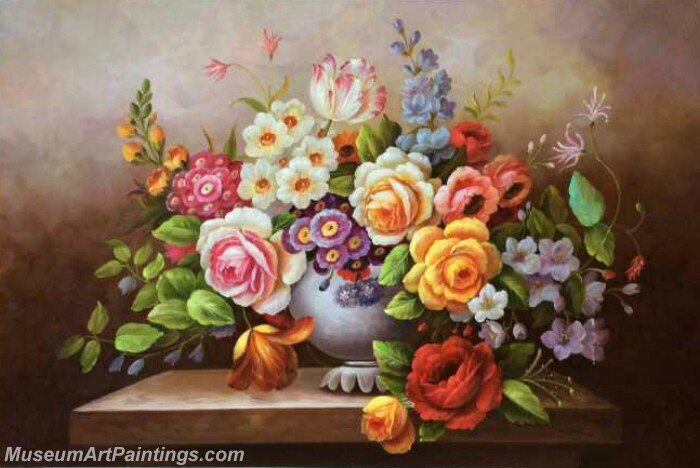 Classical Flower Oil Paintings DM05