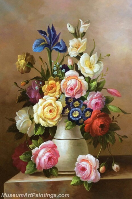 Classical Flower Oil Paintings DM06