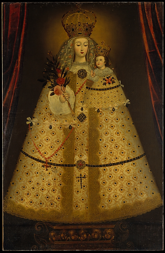 Classical Oil Paintings Virgin of the Rosary of Guapulo