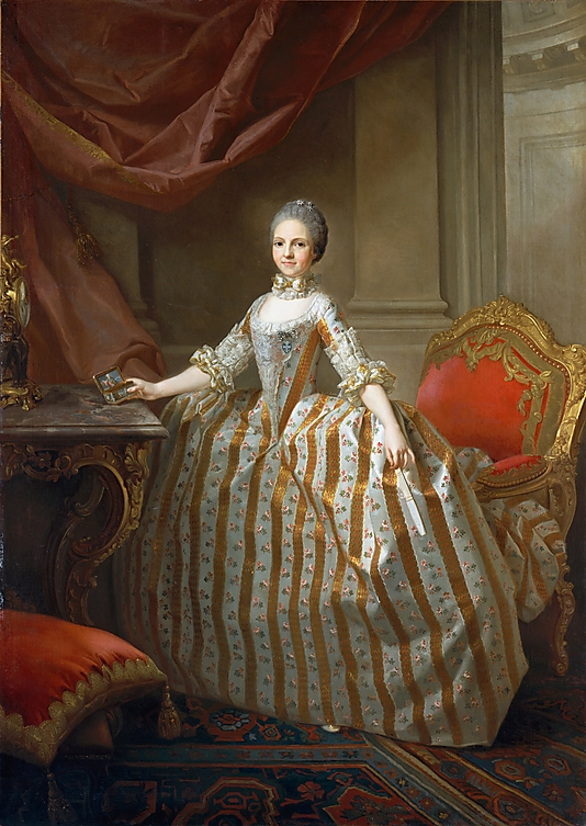 Classical Painting Maria Luisa of Parma Later Queen of Spain