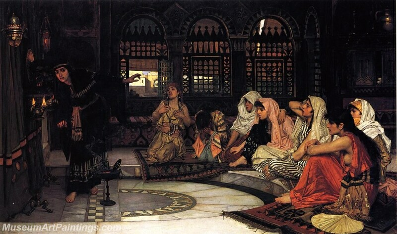 Consulting the Oracle Painting