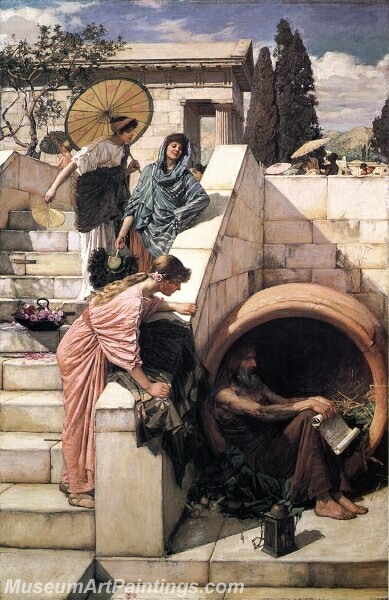 Diogenes Painting