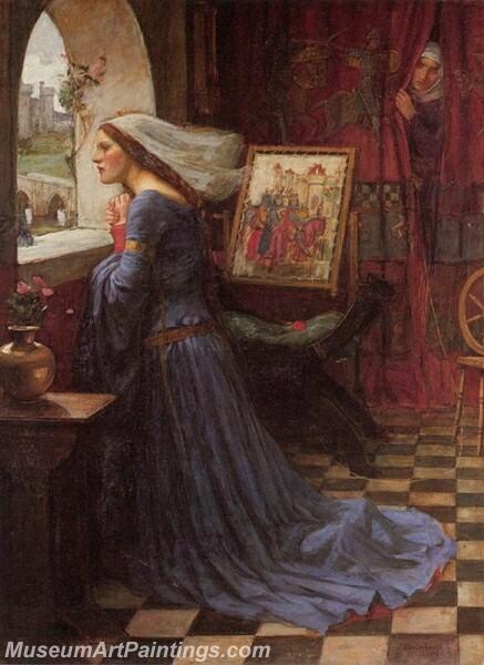 Fair Rosamund Painting