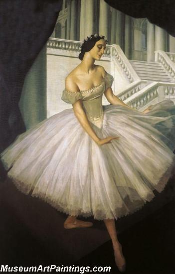 Famous Ballet Paintings Portrait of Ballerina Anna Pavolva