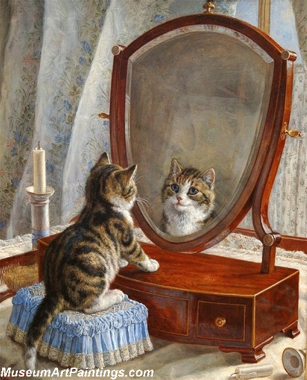 Famous Cat Paintings Whos The Fairest of them All