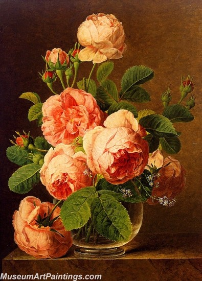 Famous Classical Flower Oil Paintings 012
