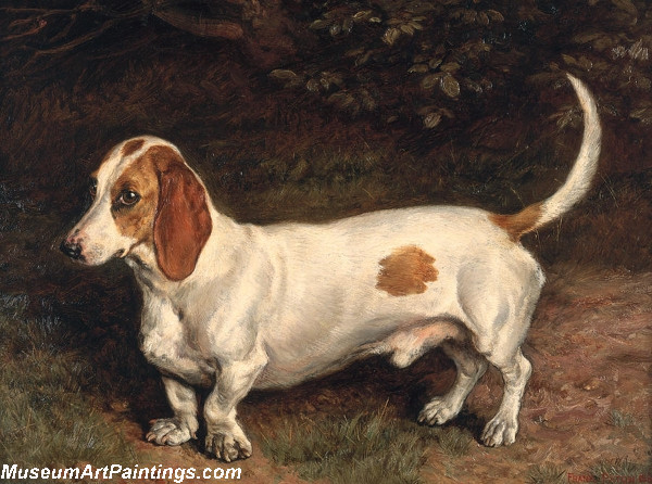 Famous Dog Paintings A Favorite Dachshund