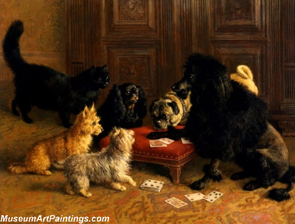 Famous Dog Paintings The Card Game
