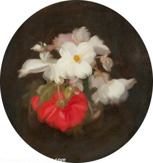 Famous Flower Paintings Begonias