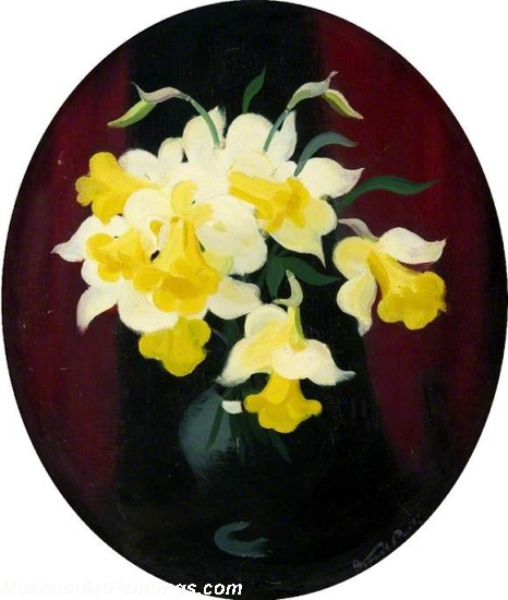 Famous Flower Paintings Daffodils