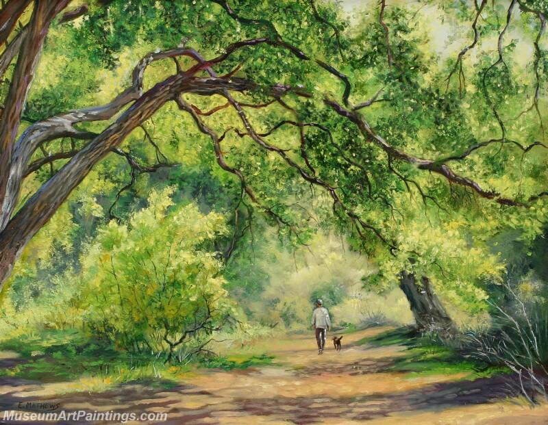 Famous Landscape Paintings MD013