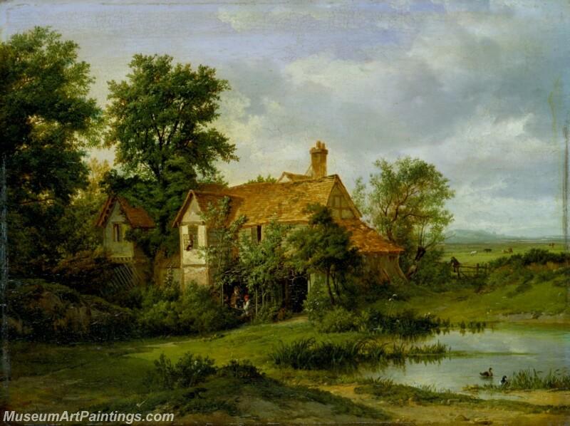Famous Landscape Paintings MD014