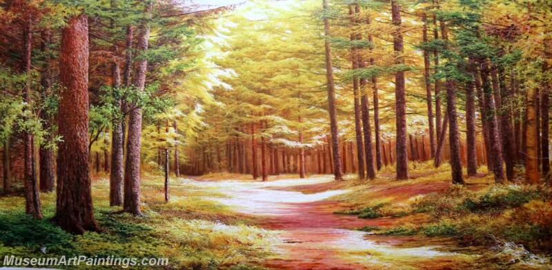 Famous Landscape Paintings MD015