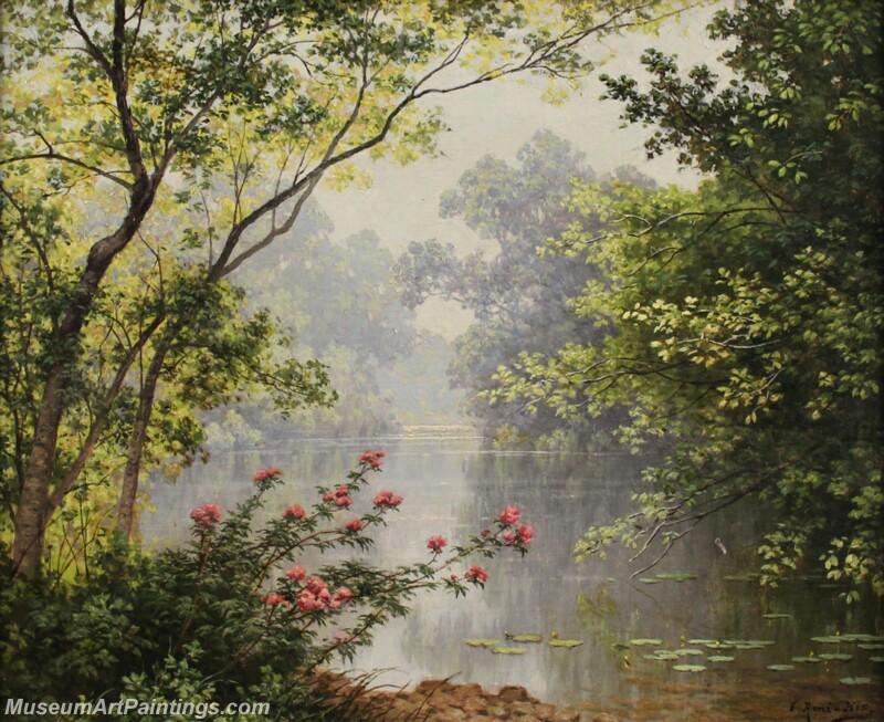 Famous Landscape Paintings MD017
