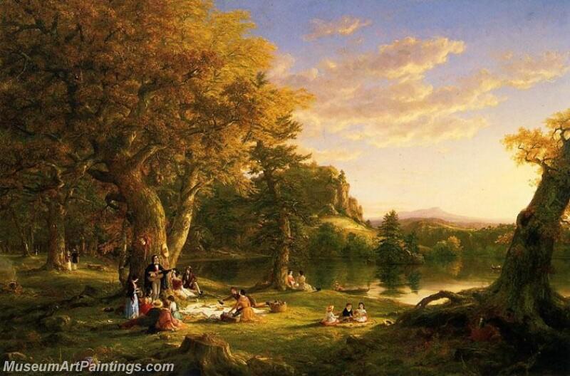 Famous Landscape Paintings MD018