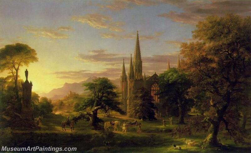 Famous Landscape Paintings MD019