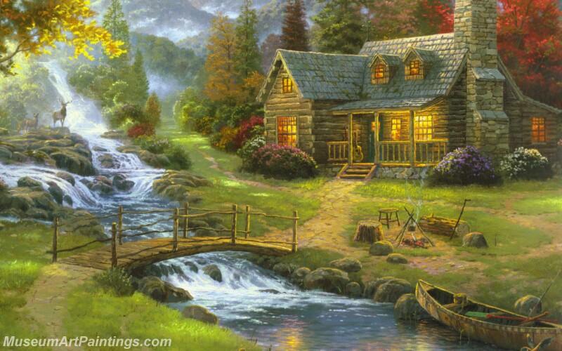 Famous Landscape Paintings MD020