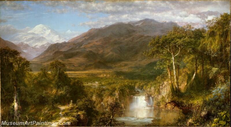 Famous Landscape Paintings MD021