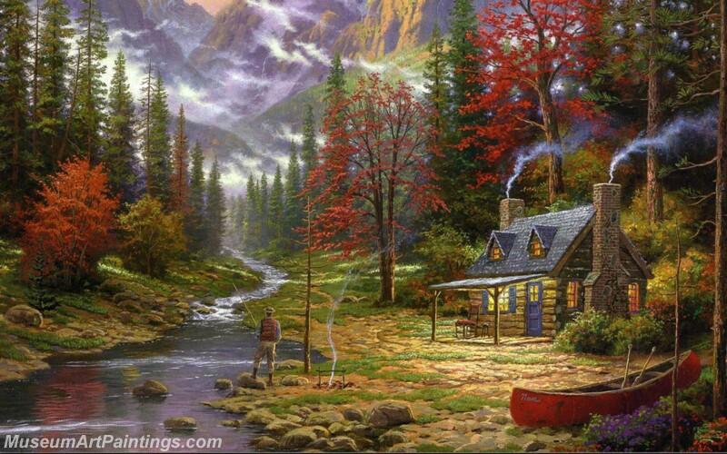 Famous Landscape Paintings MD022