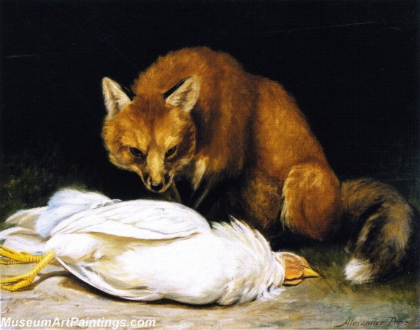 Famous Paintings The Fox Fair Game