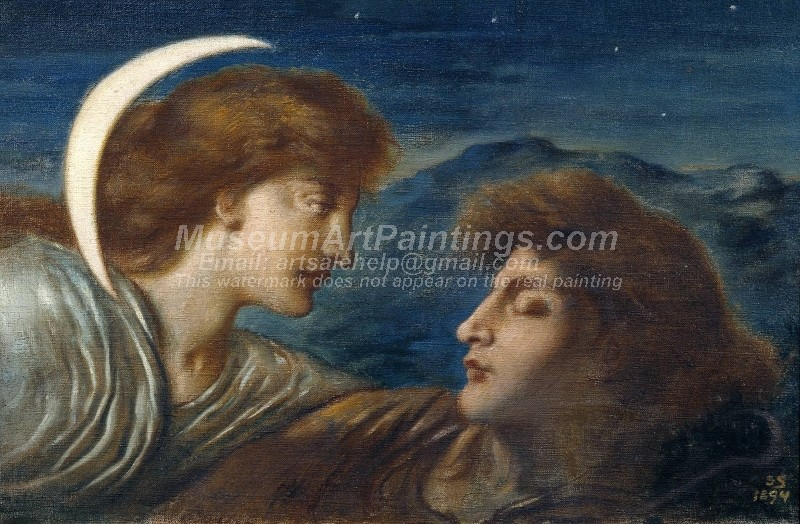 Famous Paintings The Moon and Sleep