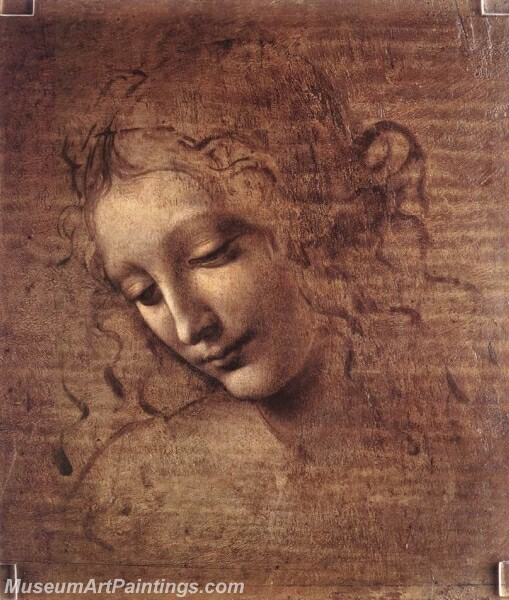 Female head Painting
