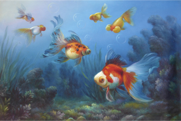 Fish Oil Paintings 018