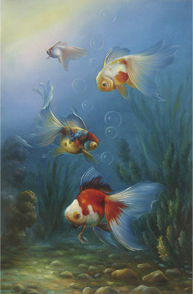 Fish Oil Paintings 022