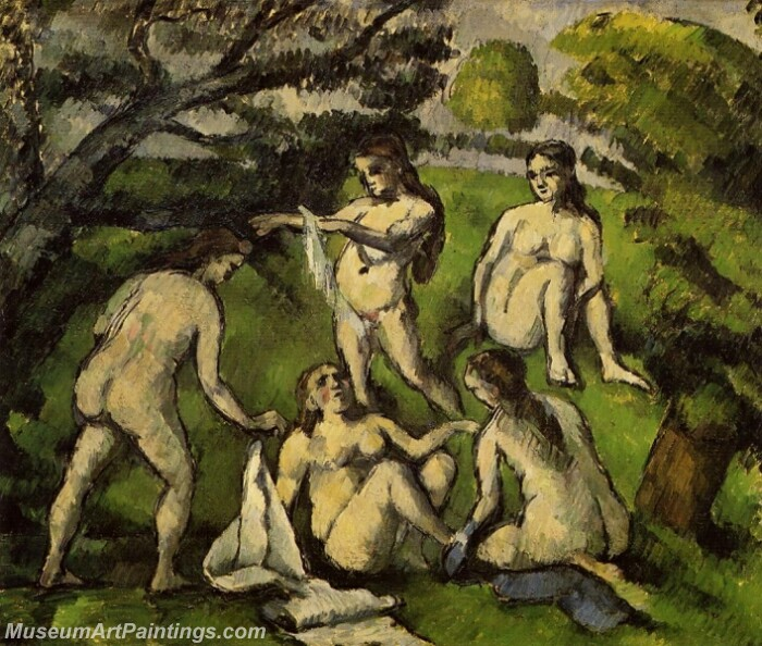 Five Bathers 01 Painting