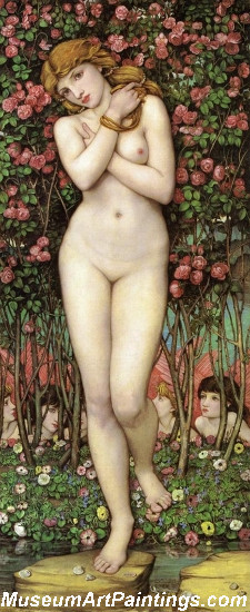 Flora Nude Painting by John Roddam Spencer Stanhope