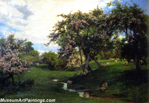 Flower Garden Paintings When Nature Painted All Things Gay