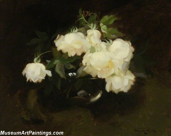 Flower Oil Painting Roses 2