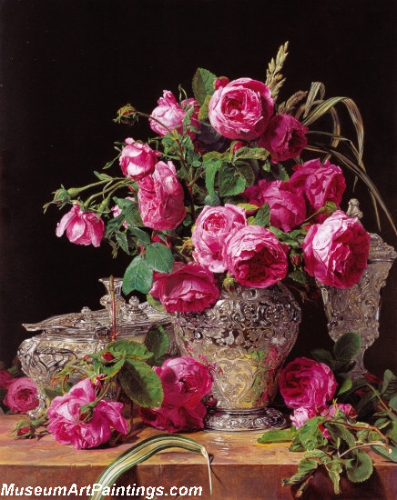 Flower Oil Paintings Roses