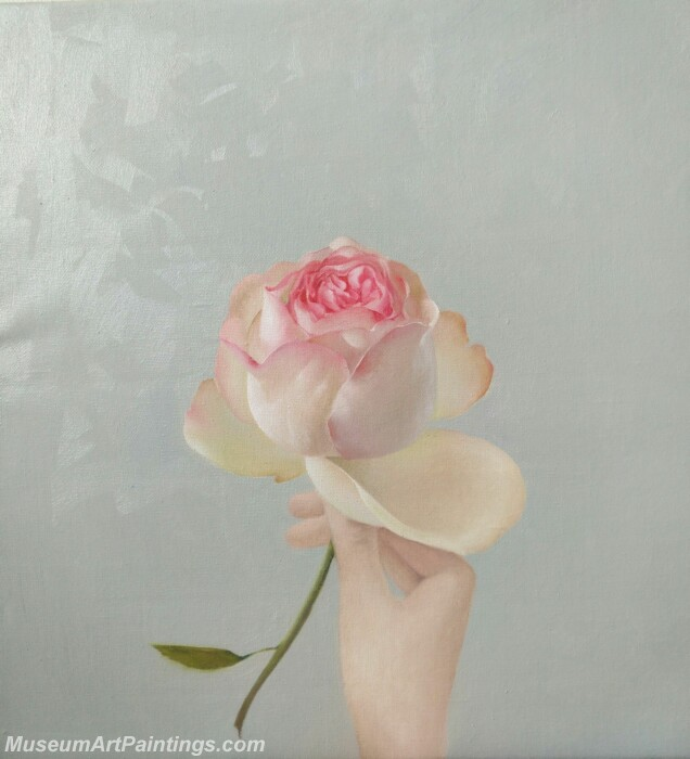 Flower Painting A Rose