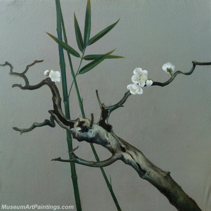 Flower Painting Plum Blossoms