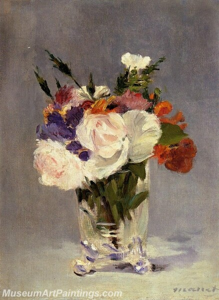 Flowers in a Crystal Vast Painting