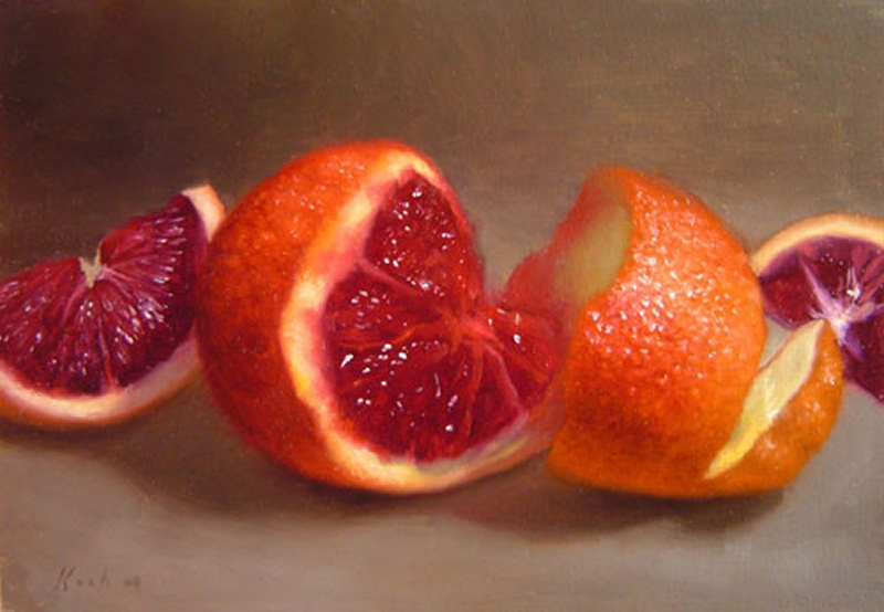 Fruit Oil Painting 10