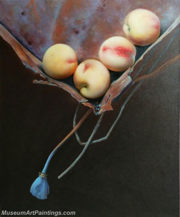 Fruit Painting Peaches